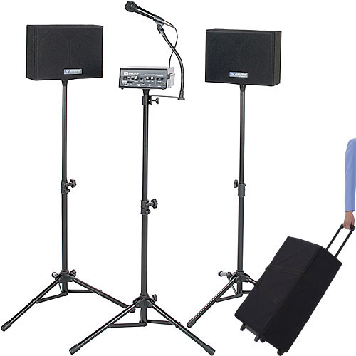 AmpliVox Sound Systems S230A Voice Carrier - Complete Portable PA System