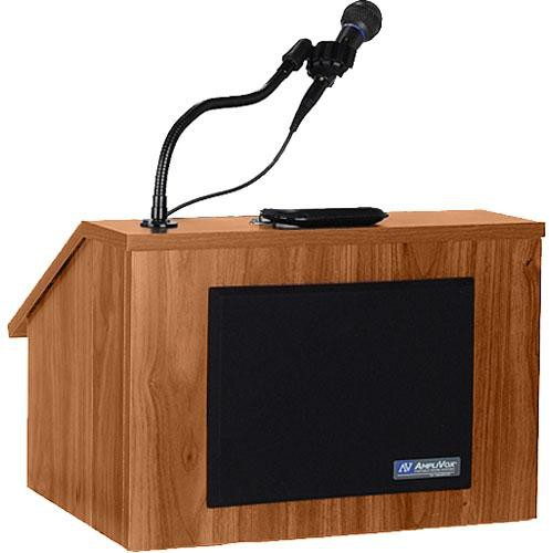 AmpliVox Sound Systems S272 EZ Speak Folding Lectern (Medium Oak)
