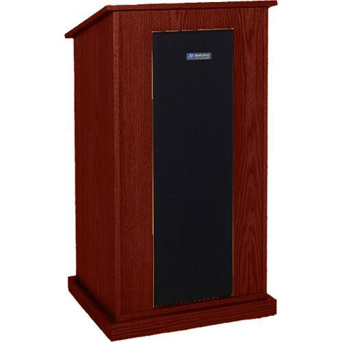 AmpliVox Sound Systems S470-MA Riverwoods Chancellor Lectern (Mahogany)