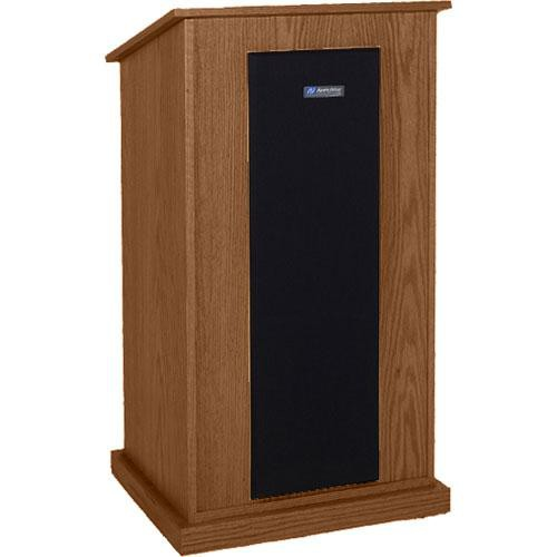 AmpliVox Sound Systems S470-WA Riverwoods Chancellor Lectern (Walnut)