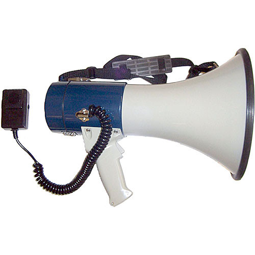 AmpliVox Sound Systems S602M Mity-Meg Plus 25W Megaphone with Microphone