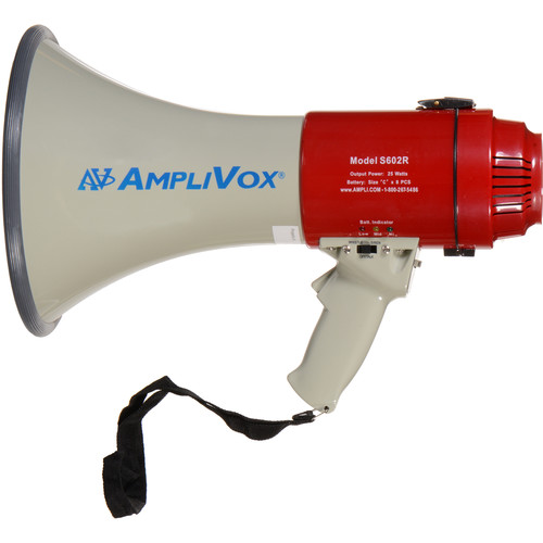 AmpliVox Sound Systems S602R Mity-Meg 25W Megaphone