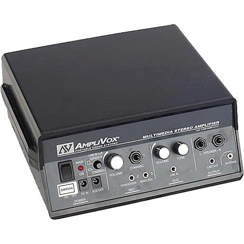 AmpliVox Sound Systems S805A Portable Amplifier