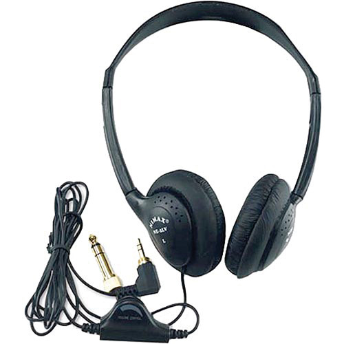 AmpliVox Sound Systems SL1006 On-Ear Stereo Headphones