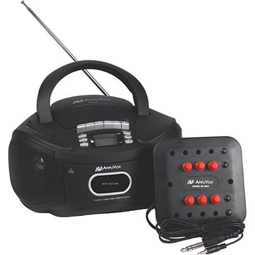 AmpliVox Sound Systems SL1014 6-Station Listening Center/Boombox