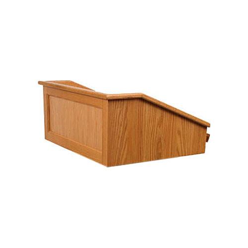 AmpliVox Sound Systems Victoria Tabletop Lectern (Non-Sound, Natural Oak)
