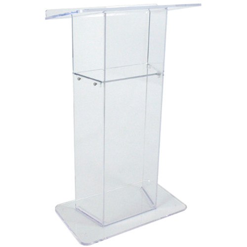 AmpliVox Sound Systems SN3050 Acrylic Lectern (Clear)