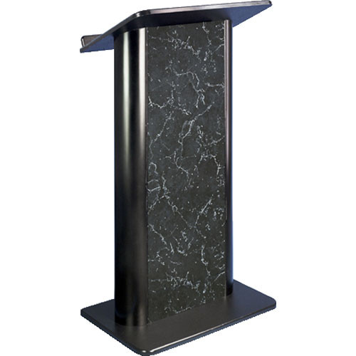 AmpliVox Sound Systems SN3095 Contemporary Color Panel Lectern (Pyranees Marble)