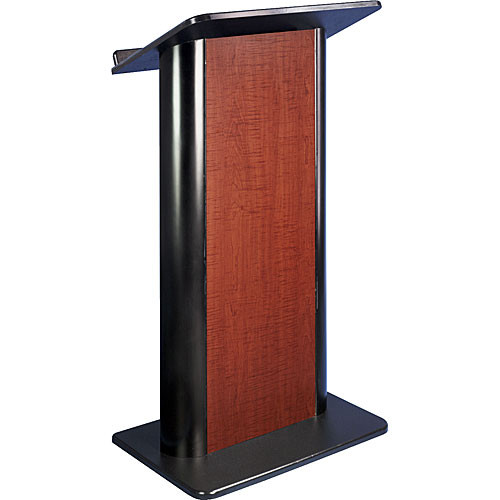 AmpliVox Sound Systems SN3100 Contemporary Color Panel Lectern (Sippling Seattle Java)