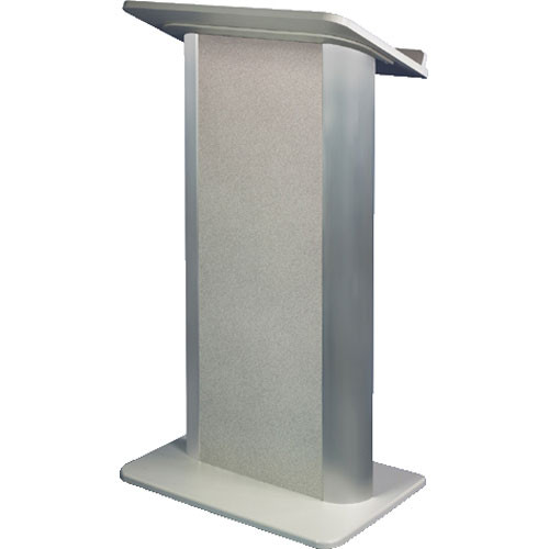 AmpliVox Sound Systems SN3105 Contemporary Color Panel Lectern (Grey Granite)