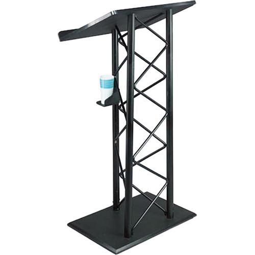AmpliVox Sound Systems Aluminum Truss Lectern (Black)