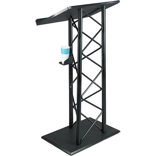 AmpliVox Sound Systems Aluminum Truss Lectern (Black)