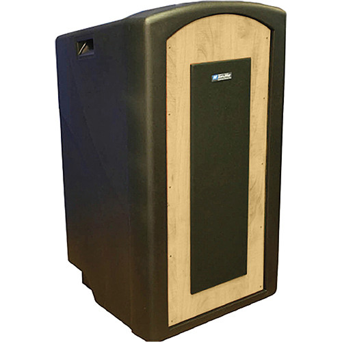 AmpliVox Sound Systems Pinnacle Multimedia Lectern (Non-Sound, Maple Veneer)