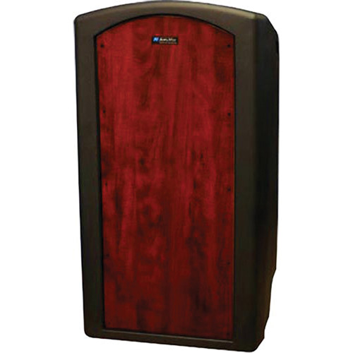 AmpliVox Sound Systems Pinnacle Multimedia Lectern (Non-Sound, Mahogany Veneer)