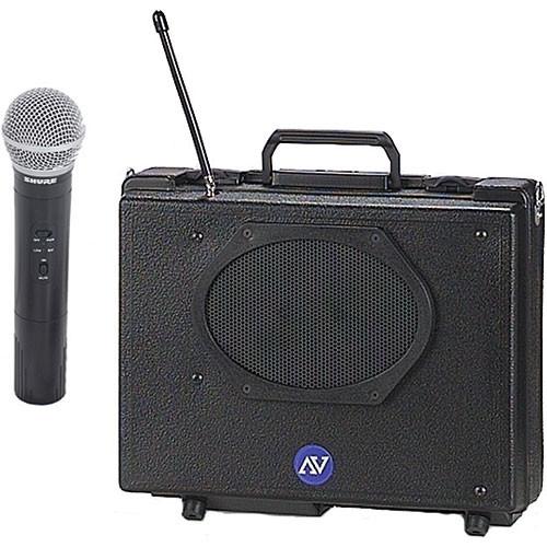 AmpliVox Sound Systems SW223 Wireless Audio Portable Buddy