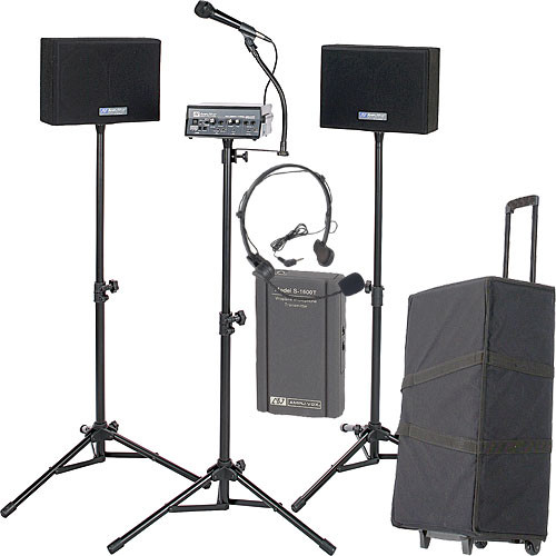 AmpliVox Sound Systems SW230AHS Voice Carrier Portable PA with Headset
