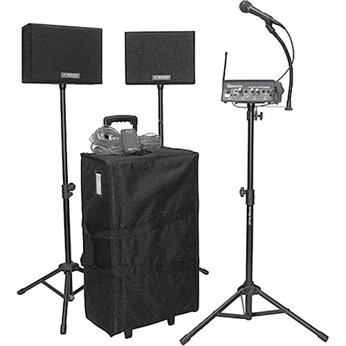 AmpliVox Sound Systems SW232 Voice Carrier Portable PA System
