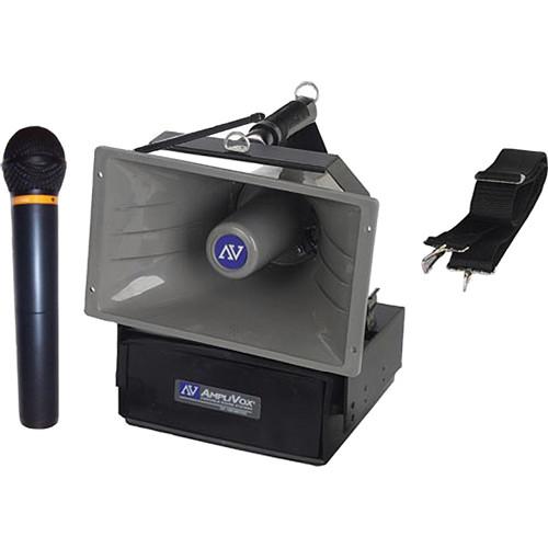 AmpliVox Sound Systems SW615A Half-Mile Hailer Wireless Megaphone