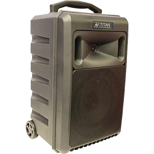 AmpliVox Sound Systems SW800 Titan Portable PA System
