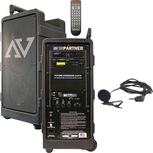 AmpliVox Sound Systems SW915-L  Digital Audio Travel Partner w/ Lapel Wireless Microphone