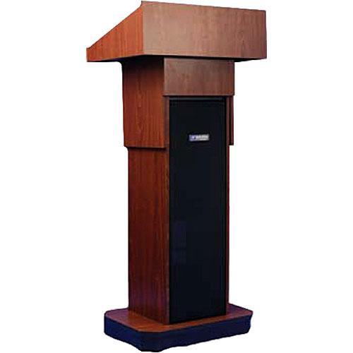 AmpliVox Sound Systems W505A Executive Adjustable Non-Sound Column Lectern (Mahogany)
