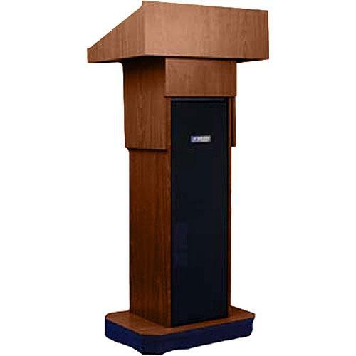 AmpliVox Sound Systems W505A Executive Adjustable Non-Sound Column Lectern (Walnut)
