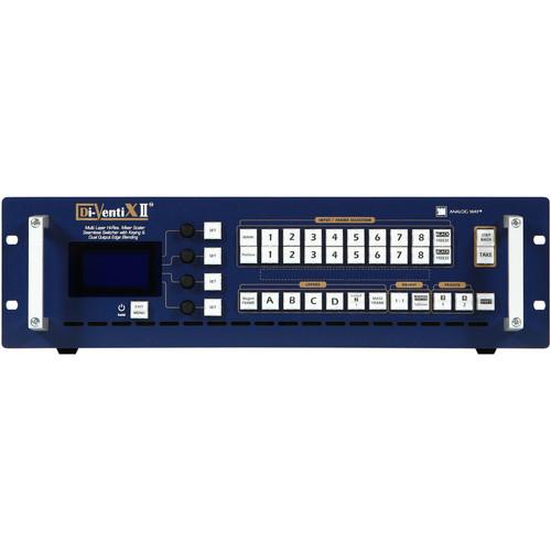 Analog Way DVX 8044 DI-VENTIX II Mixer, Scaler & Seamless Switcher with CROSS BLENDER Software