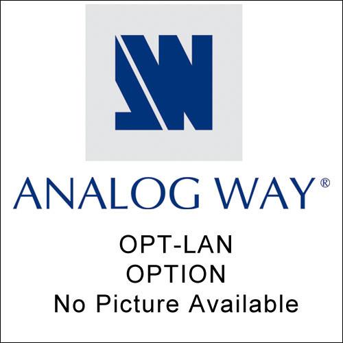 Analog Way OPT-LAN Optional TCP/IP Interface - for OCTO Series