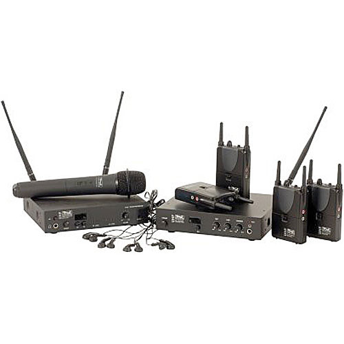 Anchor Audio ALD-40 - 4-User Deluxe Wireless Assistive Listening System