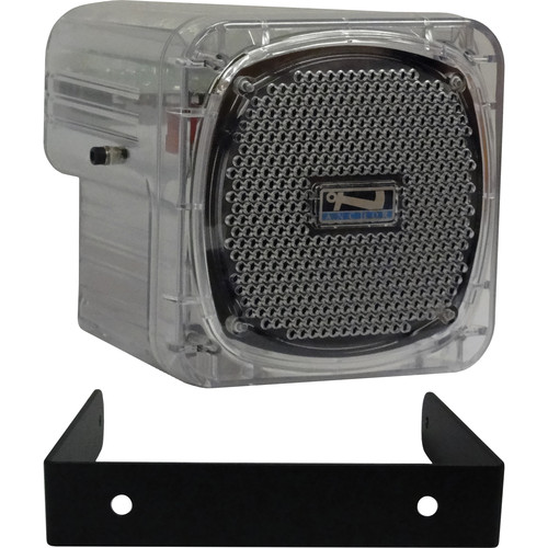 Anchor Audio AN-30 Portable 30W Speaker Monitor with Bracket (Clear)