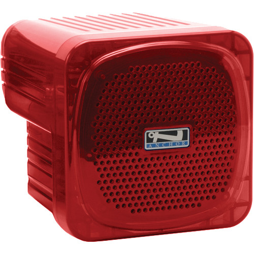 Anchor Audio AN-30 Portable 30W Speaker Monitor (Red)