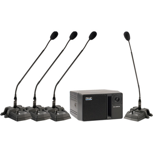 Anchor Audio Councilman CM-4 Conference Microphone Package