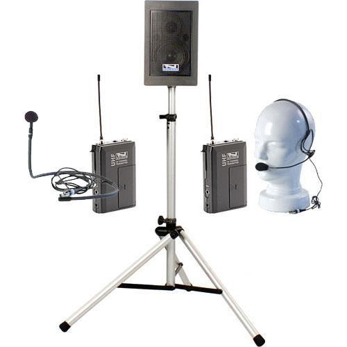 Anchor Audio EBP-7500 Explorer Basic Package with Headband Mic & Collar Mic