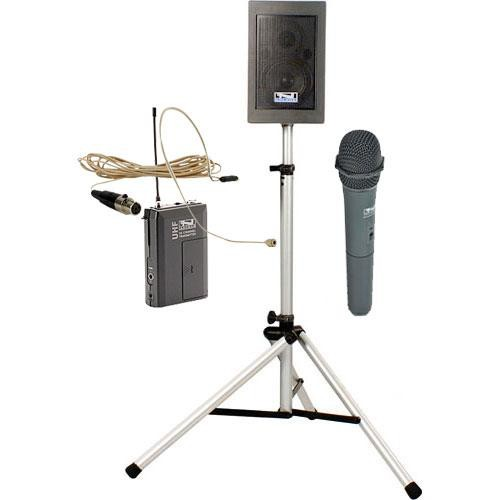 Anchor Audio EBP-7500 Explorer Basic Package with Handheld Mic & UltraLite Mic