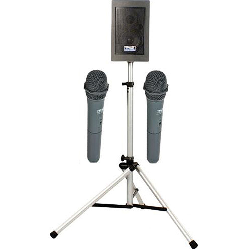 Anchor Audio EBP-7500 Explorer Basic Package with Two WH-6000 Handheld Microphone