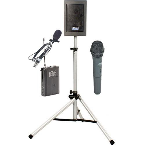 Anchor Audio EBP-7500 Explorer Basic Package with Handheld Mic & Lapel Mic