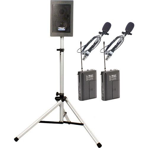 Anchor Audio EBP-7500 Explorer Basic Package with Lapel Mic x 2