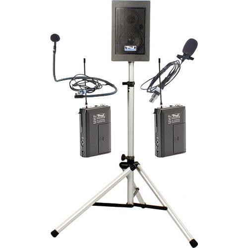 Anchor Audio EBP-7500 Explorer Basic Package with Lapel Mic  & Collar Mic