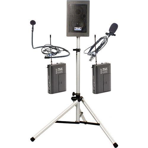 Anchor Audio EBP-7500 Explorer Basic Package with Lapel Mic  & Collar Mic