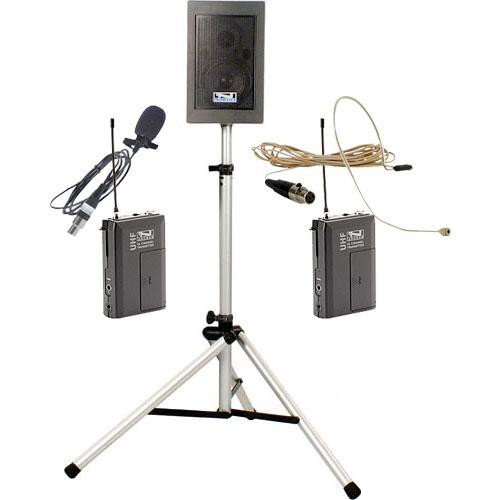 Anchor Audio EBP-7500 Explorer Basic Package with Lapel Mic & UltraLite Mic