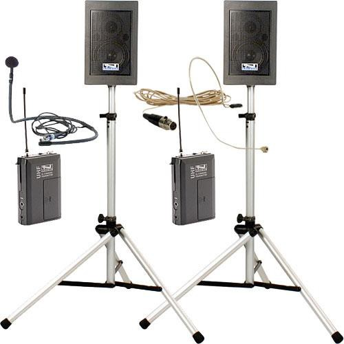 Anchor Audio EDP7500 CM-UL  Explorer Pro Delxue Package with CM-60 Collar Microphone x 2