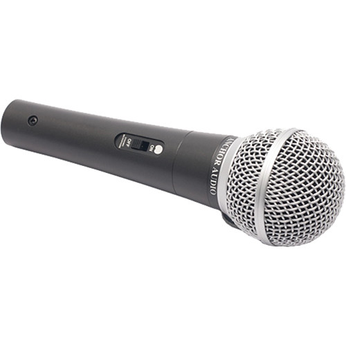 "Anchor Audio MIC-90P Handheld Microphone with XLR to 1/4"" Cable"