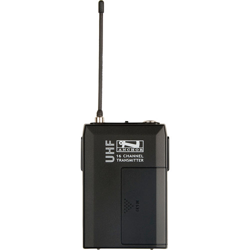 Anchor Audio WB-6000 - UHF Body Pack Transmitter (682 to 698 MHz)