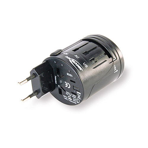 Ansmann All-In-One Travel Plug Adapter