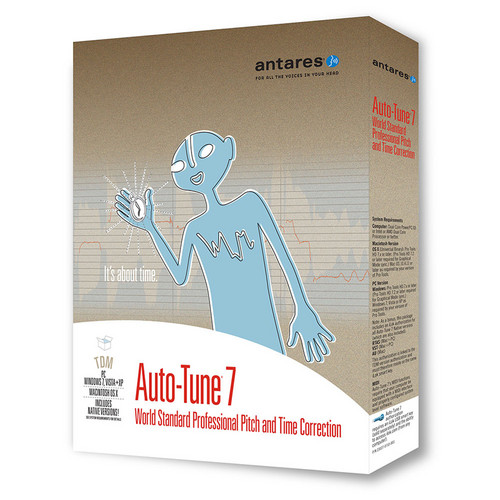 Antares Audio Technologies Auto-Tune 7 - Pitch Correction Plug-In (TDM)