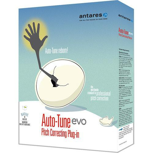 Antares Audio Technologies Auto-Tune Evo - Pitch Correction Plug-In (Native)