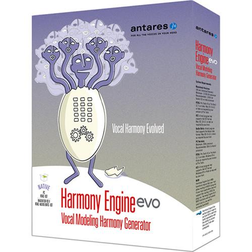 Antares Audio Technologies Harmony Engine Evo - Vocal Modeling Harmony Generator Plug-In