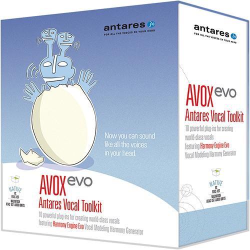Antares Audio Technologies AVOX Evo - Vocal Toolkit (Native)