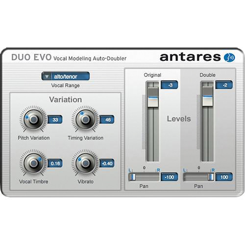 Antares Audio Technologies DUO Evo - Vocal Modeling Auto-Doubler Plug-In (Download)