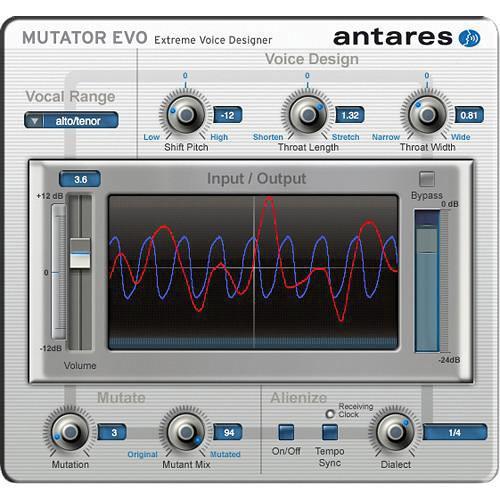 Antares Audio Technologies MUTATOR Evo - Extreme Voice Designer Plug-In (Download)